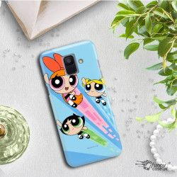 ETUI NA TELEFON SAMSUNG GALAXY A6 2018 A600 CARTOON NETWORK AT109 ATOMÓWKI