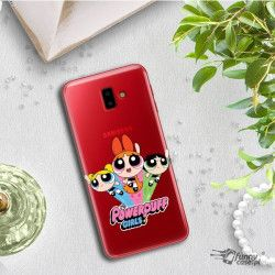 ETUI NA TELEFON SAMSUNG GALAXY J6 PLUS 2018 J610 CARTOON NETWORK AT158 ATOMÓWKI
