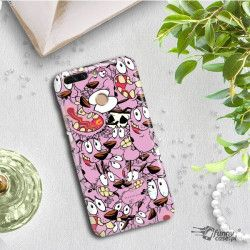ETUI NA TELEFON HUAWEI HONOR V9 DUK-AL20 CARTOON NETWORK CO101 CLASSIC CHOJRAK