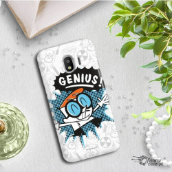 ETUI NA TELEFON SAMSUNG GALAXY J2 2018 J250 CARTOON NETWORK DX105 CLASSIC LABORATORIUM DEXTERA