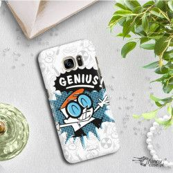 ETUI NA TELEFON SAMSUNG GALAXY S7 EDGE G935 CARTOON NETWORK DX105 CLASSIC LABORATORIUM DEXTERA