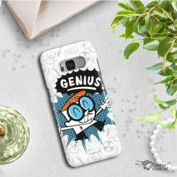 ETUI NA TELEFON SAMSUNG GALAXY S8 PLUS G955 CARTOON NETWORK DX105 CLASSIC LABORATORIUM DEXTERA