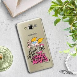 ETUI NA TELEFON SAMSUNG GALAXY A7 A700 CARTOON NETWORK DX290 CLASSIC LABORATORIUM DEXTERA