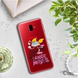 ETUI NA TELEFON SAMSUNG GALAXY J6 PLUS 2018 J610 CARTOON NETWORK DX290 CLASSIC LABORATORIUM DEXTERA