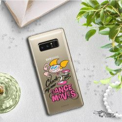 ETUI NA TELEFON SAMSUNG GALAXY NOTE 8 N950 CARTOON NETWORK DX290 CLASSIC LABORATORIUM DEXTERA