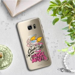 ETUI NA TELEFON SAMSUNG GALAXY S7 EDGE G935 CARTOON NETWORK DX290 CLASSIC LABORATORIUM DEXTERA