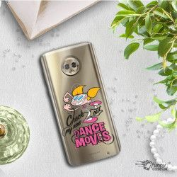 ETUI NA TELEFON LENOVO MOTO G6 PLUS CARTOON NETWORK DX290 CLASSIC LABORATORIUM DEXTERA