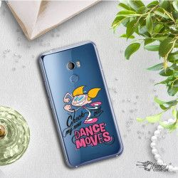 ETUI NA TELEFON HTC U11 PLUS CARTOON NETWORK DX290 CLASSIC LABORATORIUM DEXTERA