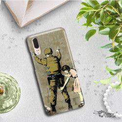 ETUI NA TELEFON HUAWEI P10 PLUS VKY-L09 BANKSY WZÓR BK135