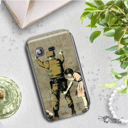 ETUI NA TELEFON SAMSUNG GALAXY NOTE 8 N950 BANKSY WZÓR BK135