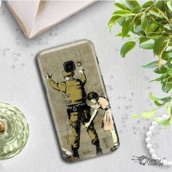 ETUI NA TELEFON SAMSUNG GALAXY S9 PLUS G965 BANKSY WZÓR BK135