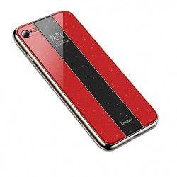 ETUI GLASS NA TELEFON IPHONE 7 4.7'' 8 4.7'' CZERWONY