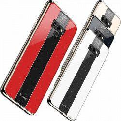 ETUI GLASS NA TELEFON SAMSUNG S10 LITE CZERWONY