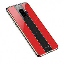 ETUI GLASS NA TELEFON SAMSUNG S9 PLUS CZERWONY