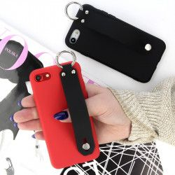 ETUI SMOOTH UCHWYT NA TELEFON APPLE IPHONE XR CZERWONY