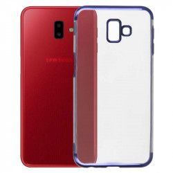 ETUI PLATING SAMSUNG GALAXY J6 PLUS 2018 NIEBIESKI