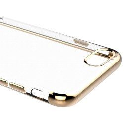 ETUI PLATING IPHONE X/XS ZŁOTY