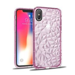 SUMMER DIAMOND CASE IPHONE X/XS RÓŻOWY