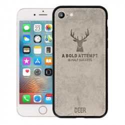 "ETUI DEER IPHONE 7 4.7"" SZARY"