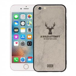 "ETUI DEER IPHONE 6 4.7"" SZARY"