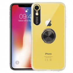 ETUI 3w1 RING 360 IPHONE XR 6.1'' TRANSPARENTNY