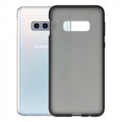 ETUI IRON CASE SMOOTH SAMSUNG S10 LITE CZARNY