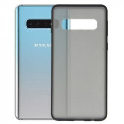 ETUI IRON CASE SMOOTH SAMSUNG S10 CZARNY