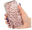 "ETUI GLASS DIAMONDS MARMUR NA TELEFON  IPHONE 6 4.7"" wzór1"