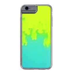 ETUI LIQUID NEON NA TELEFON IPHONE 6 / 6S ZIELONY
