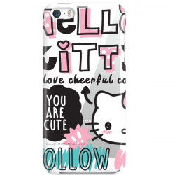 APPLE IPHONE 5 / 5S / SE  HELLO KITTY WZÓR HK126