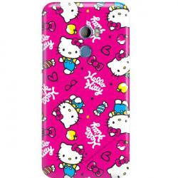 ETUI NA TELEFON HTC U11 PLUS  HELLO KITTY WZÓR HK101