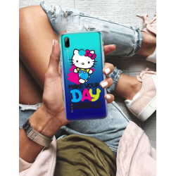 HUAWEI Y7 2019  HELLO KITTY WZÓR HK110