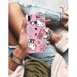 HUAWEI Y9 2019  HELLO KITTY WZÓR HK132
