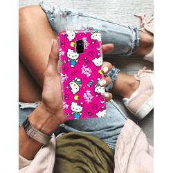ETUI NA TELEFON SAMSUNG GALAXY A8 PLUS 2018  JODI PEDRI WZÓR JODI113