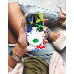 ETUI NA TELEFON SAMSUNG GALAXY A8 PLUS 2018  JODI PEDRI WZÓR JODI130