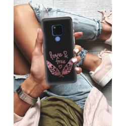 ETUI NA TELEFON HUAWEI MATE 20 NEON MIENIĄCE SIĘ ZLD113