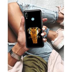 ETUI NA TELEFON HUAWEI P SMART 2019 NEON MIENIĄCE SIĘ ZLC112