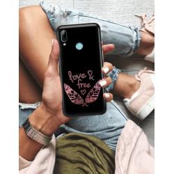 ETUI NA TELEFON HUAWEI P SMART 2019 NEON MIENIĄCE SIĘ ZLD113