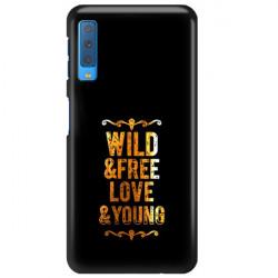 ETUI NA TELEFON SAMSUNG GALAXY A7 2018 NEON MIENIĄCE SIĘ ZLC111