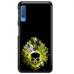ETUI NA TELEFON SAMSUNG GALAXY A7 2018 NEON MIENIĄCE SIĘ ZLI120