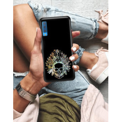 ETUI NA TELEFON SAMSUNG GALAXY A7 2018 NEON MIENIĄCE SIĘ ZLN120