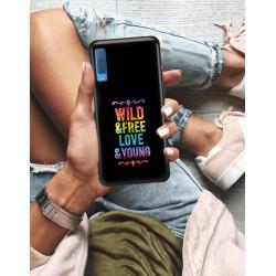 ETUI NA TELEFON SAMSUNG GALAXY A7 2018 NEON MIENIĄCE SIĘ ZLR111