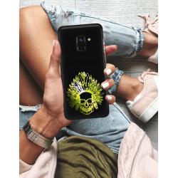ETUI NA TELEFON SAMSUNG GALAXY A8 PLUS 2018 NEON MIENIĄCE SIĘ ZLI120