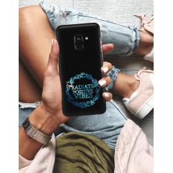 ETUI NA TELEFON SAMSUNG GALAXY A8 PLUS 2018 NEON MIENIĄCE SIĘ ZLJ160