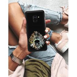 ETUI NA TELEFON SAMSUNG GALAXY A8 PLUS 2018 NEON MIENIĄCE SIĘ ZLN120