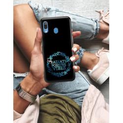 ETUI NA TELEFON SAMSUNG GALAXY A30 NEON MIENIĄCE SIĘ ZLJ160