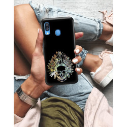 ETUI NA TELEFON SAMSUNG GALAXY A40 NEON MIENIĄCE SIĘ ZLN120