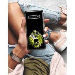 ETUI NA TELEFON SAMSUNG GALAXY S10 PLUS NEON MIENIĄCE SIĘ ZLI120