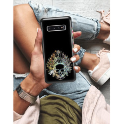 ETUI NA TELEFON SAMSUNG GALAXY S10 PLUS NEON MIENIĄCE SIĘ ZLN120