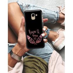 ETUI NA TELEFON SAMSUNG GALAXY J6 2018 NEON MIENIĄCE SIĘ ZLD113